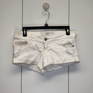 Abercrombie & Fitch Size 2 White Mini Shorts